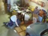 Man Wrestles Armed Intruder, Stops Robbery