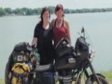 Mom And Daughter Ride Across US For Veterans