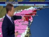 Monster Winter Storm Hammers South, Tracking North