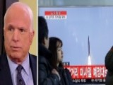 McCain: Hold China Responsible For North Korea Rocket Launch
