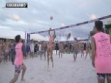 Models And Volleyball: A Match Made In Heaven