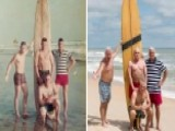 Marines Recreate Photo 50 Years Later