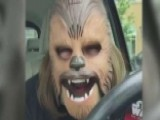 Mother Finds Extreme Happiness In Chewbacca Mask