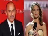 Matt Lauer, Natalie Morales Deny Affair