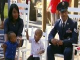 Military Family Receives New Home From Operation Homefront