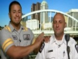 Man Reunites With Cop Who Saved Him From Drowning