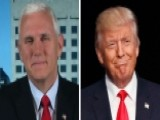 Mike Pence: I'm Proud Of My Running Mate