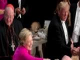 Media Focus On Trump Boos, Ignore Clinton's At Dinner