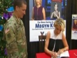 Megyn Kelly's 'Settle For More' Tour Visits Fort Hood