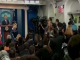 Medical Emergency Interrupts Presidential News Conference