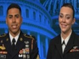 Military Members Describe Dancing With The Trumps