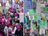 Media Bias: Women's March On DC Vs. March For Life