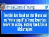 Media Challenge Trump's Wiretap Claims