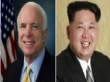 McCain Calls Kim Jong Un A 'crazy Fat Kid'