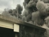 Massive Fire Collapses Interstate In Atlanta