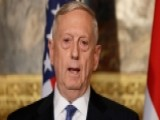 Mattis Shows Concern Over Russia's Activities In Afghanistan