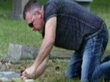Man Spends Sundays Polishing Veterans' Gravesites