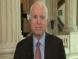 McCain Calls For Vigorous Debate On Senate Health Care Bill