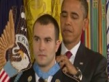 Medal Of Honor Hero Gives His Medal To His Airborne Brigade