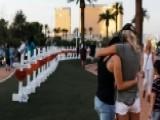 Memorial Grows In Honor Of Las Vegas Victims