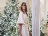 Melania Mocked Over White House Christmas Decorations