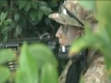 Military Training Soldiers For Jungle Warfare
