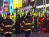 Massive New Year's Eve Security In Times Square