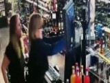 Mother And Daughter Take On An Armed Suspect
