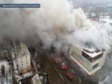 Massive Fire At Russian Mall Leaves Dozens Dead