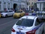 Multiple Injuries After Taxi Hits Crowd In Moscow