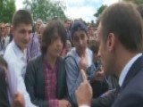 Macron Scolds French Teenager For Calling Him 'Manu'