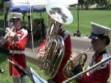 Marine Forces Reserve Band Brass Quintet Performs On FNC