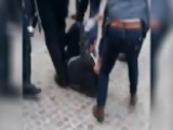 Macron Bodyguard Caught On Camera Beating Student Protester