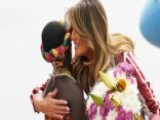Melania Trump Arrives In Ghana For First Stop Of Solo Tour