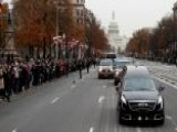 Mourners Line Streets To Watch Bush 41 Motorcade In DC