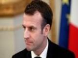 Macron: Violent Protests Are Unacceptable