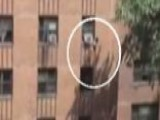NYC Man Catches Girl Falling From Building
