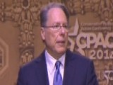 NRA CEO Wayne LaPierre Speaks At CPAC