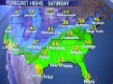 National Forecast For Saturday, March 8