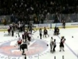 NY's Finest, Bravest Brawl At Charity Hockey Game