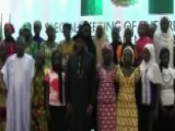 Nigerian President Meets With Families Of Kidnapped Girls