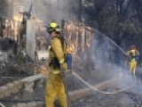 Nearly A Dozen Wildfires Blaze Across California