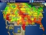National Forecast For Thursday, September 18