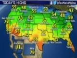 National Forecast For Thursday, October 30