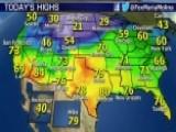 National Forecast For Monday, November 10