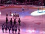 NHL Crowd Finishes National Anthem After Microphone Glitch