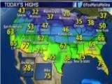 National Forecast For Wednesday, December 3