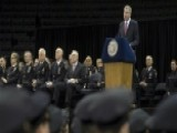 NYC Mayor Gets Mixed Welcome At NYPD Graduation Ceremony