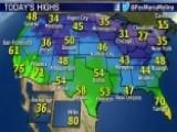 National Forecast For Thursday, January 15