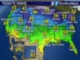 National Forecast For Thursday, January 29